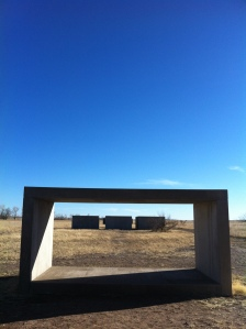 Donald Judd Untitled Works in Concrete