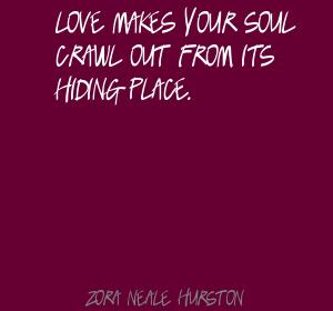 Zora Neal Hurston on love courtesy of lushquotes.com